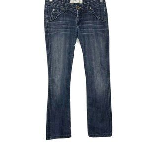 Hudson Blue Straight Low Rise Jeans 28